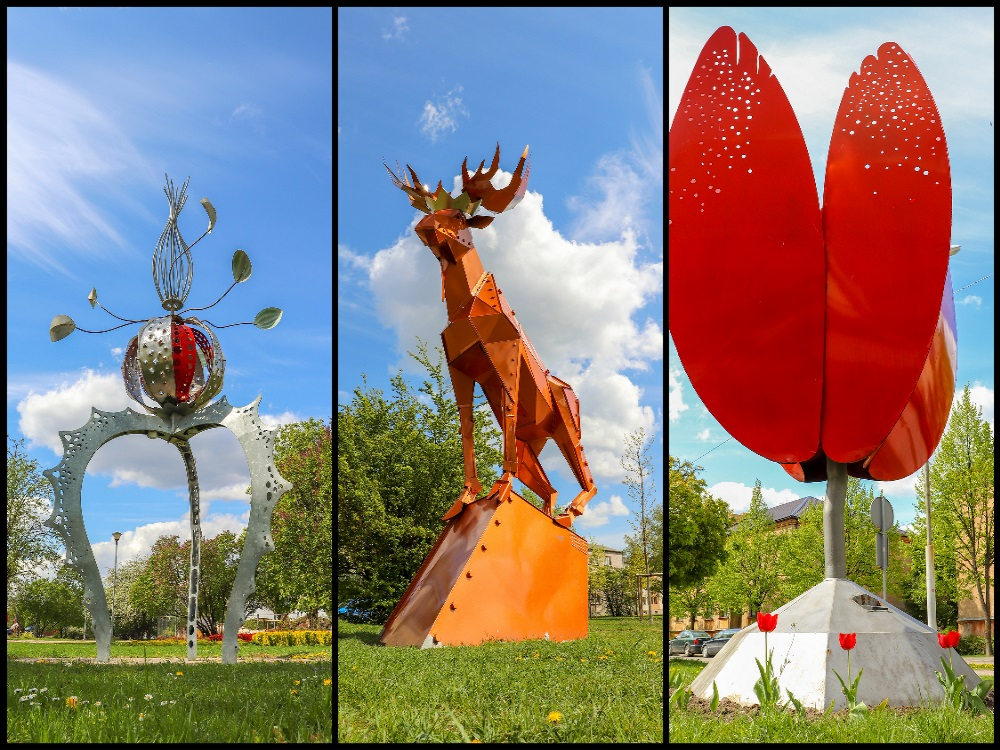 "Route ""Jelgava – city of sculptures"""