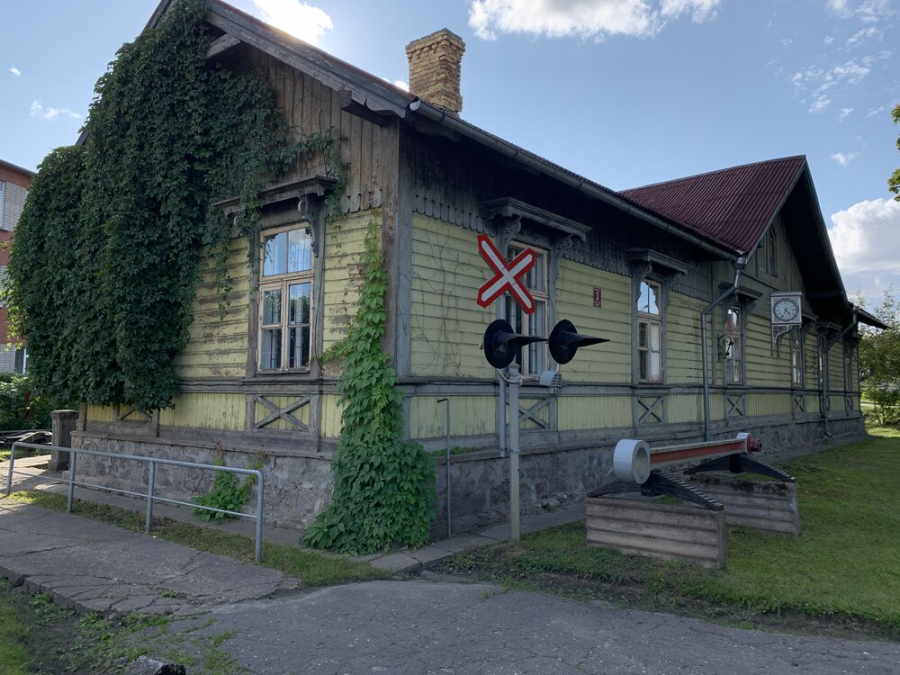 Jelgava Exhibition of Latvian Railway History Museum