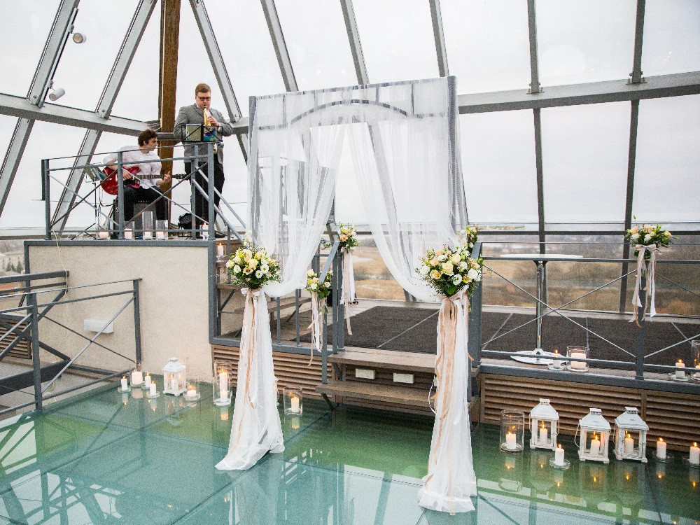 Marriage ceremonies in the tower
