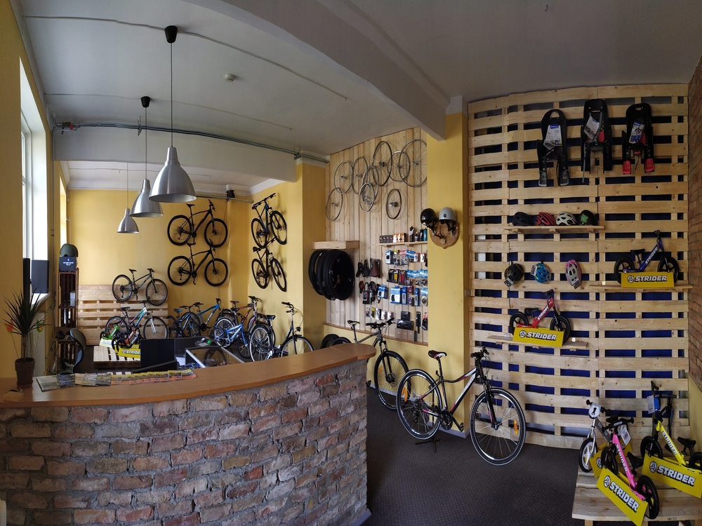 Bicycle rental KK workshop
