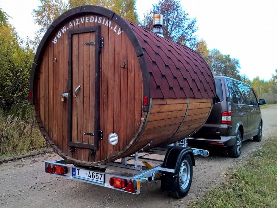 Portable Bath-house for relaxation and health